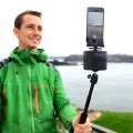 TurnsPro with selfie stick for panoselfies