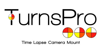 Time Lapse Camera Mount | TurnsPro Logo