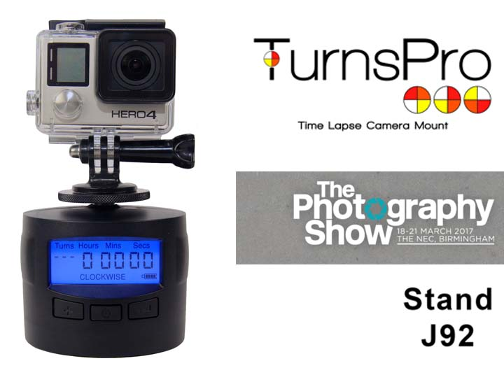 TurnsPro to Exhibit at The Photography Show 2017