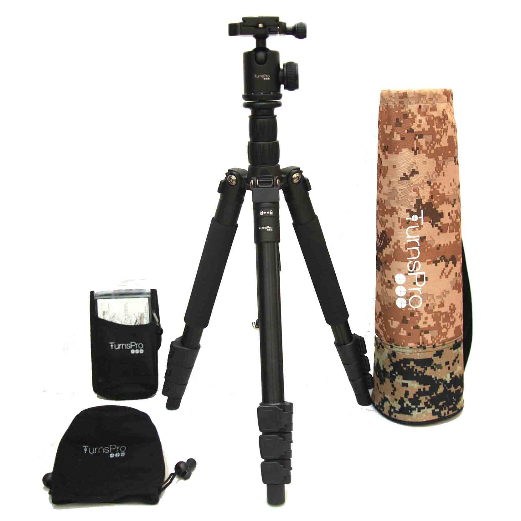 TurnsPro tripod and ball head